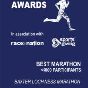 Bronze Award for Best Marathon at 2019 Running Awards