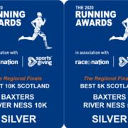 Silver Award for 10K & 5K