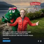 Watch back our virtual Loch Ness Runners Cafe